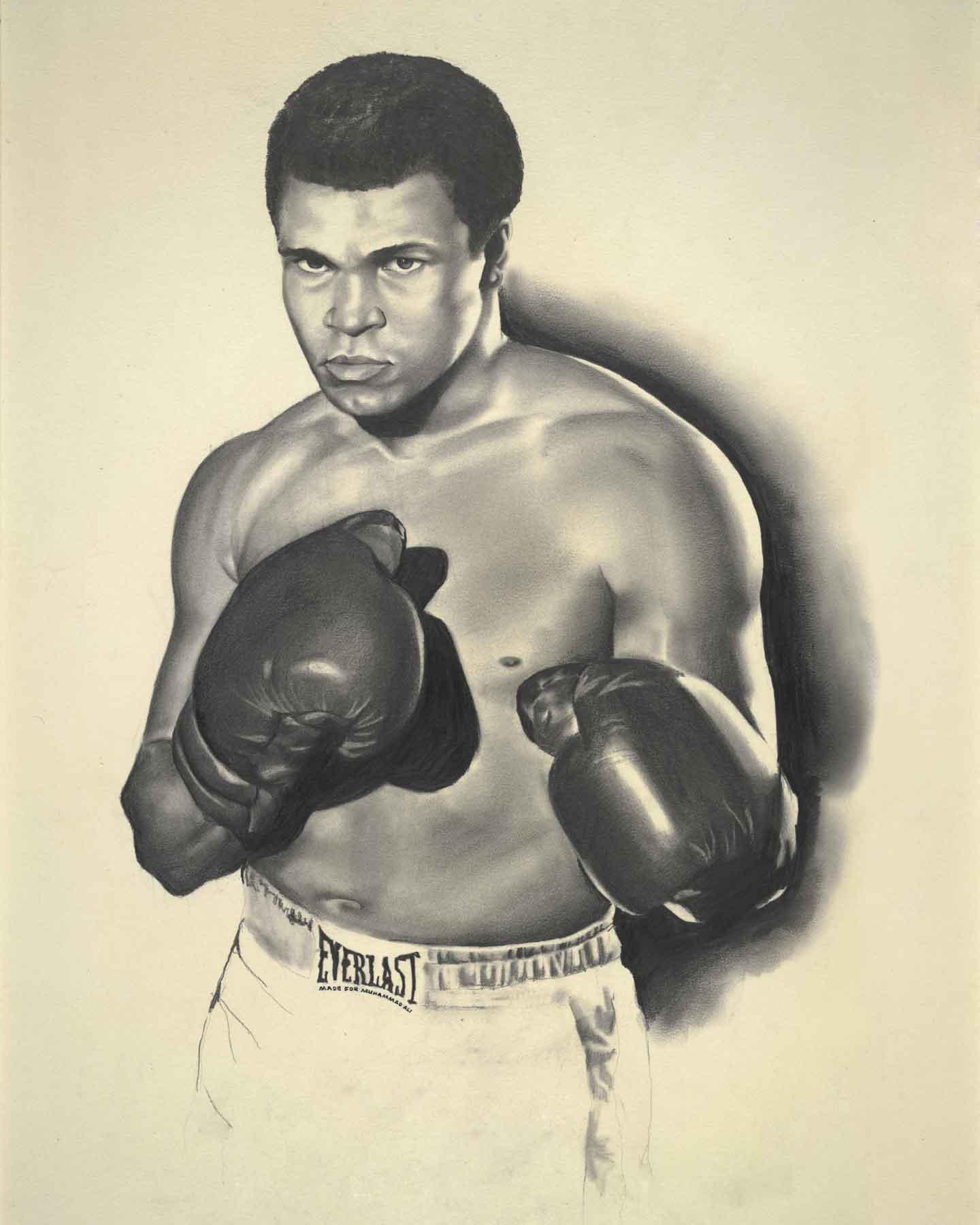 Muhammed Ali Art Tim Hinton