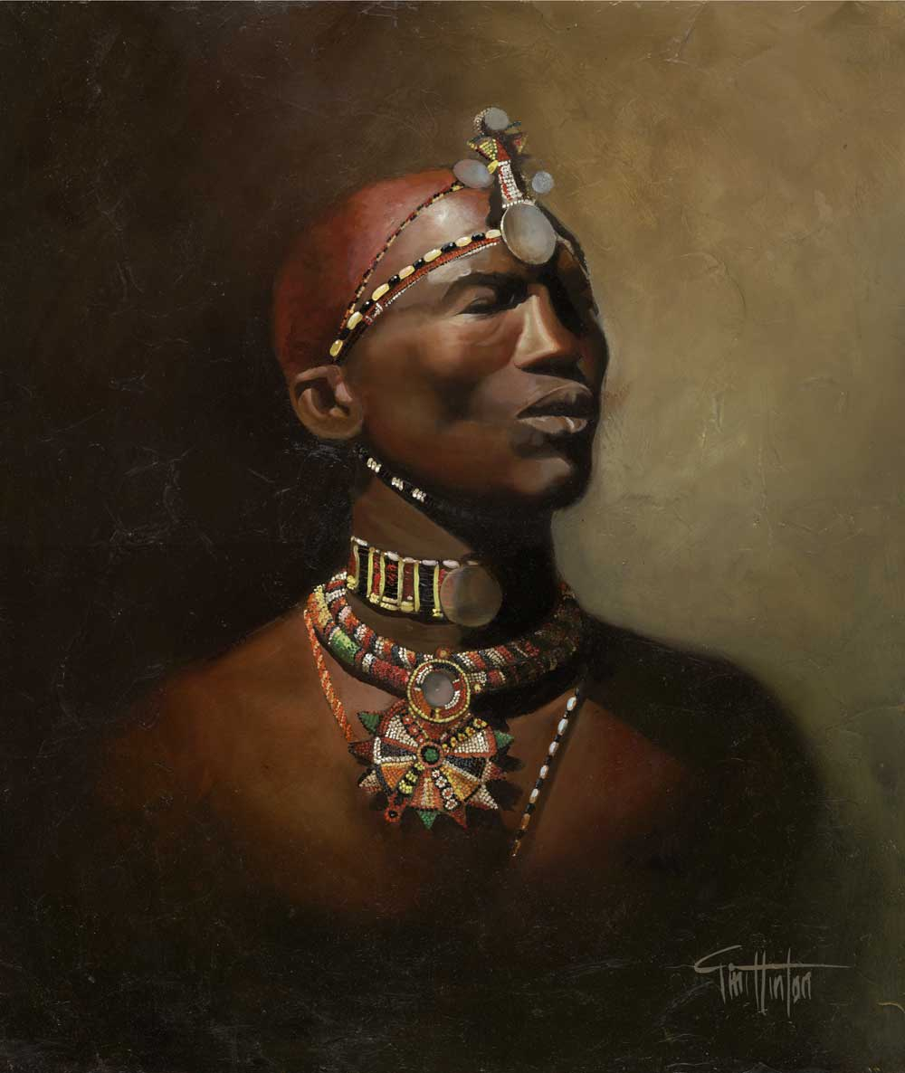 Tim Hinton Massai Man