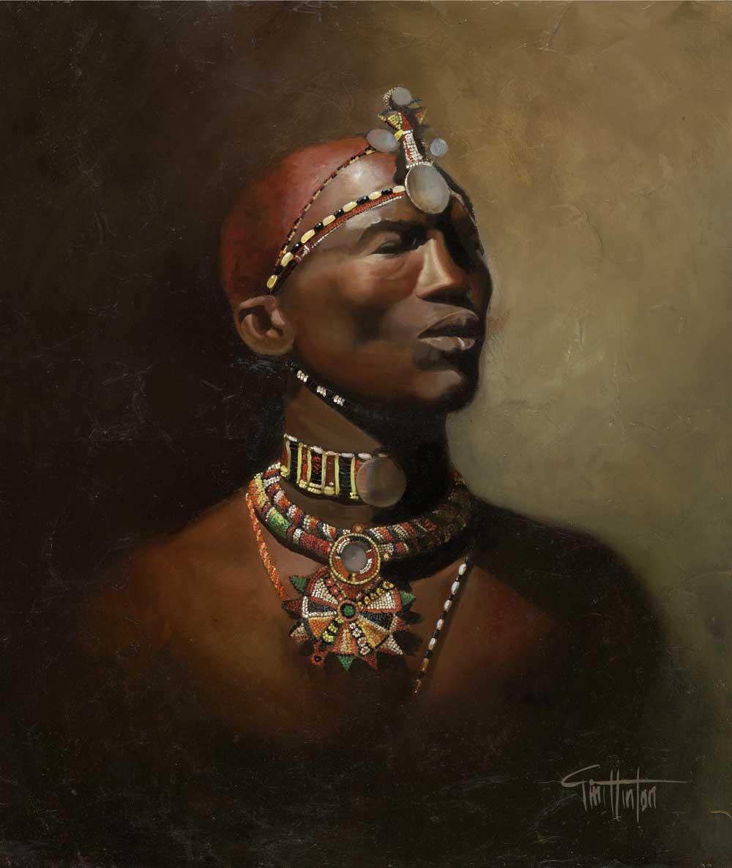 Tim Hinton Massai Man