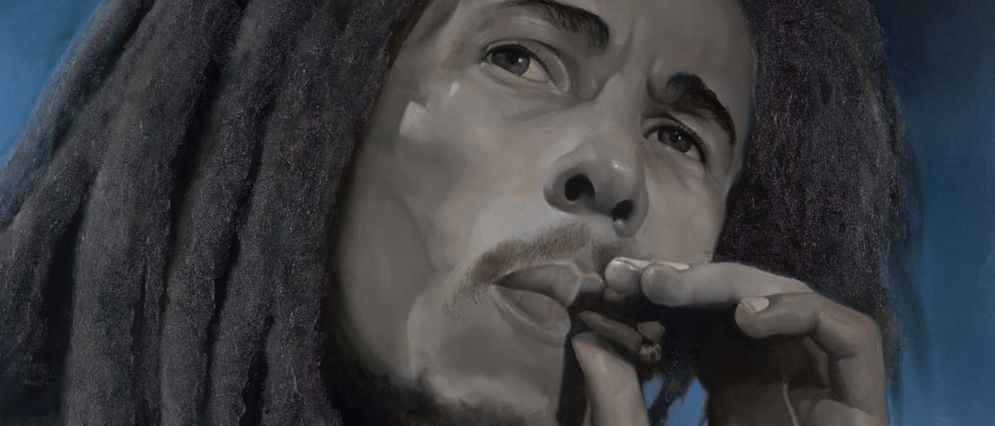 Tim Hinton Studio Bob Marley